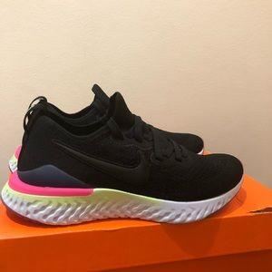 Nike Shoes - Nike Epic React Flyknit 2 Running Shoes Black